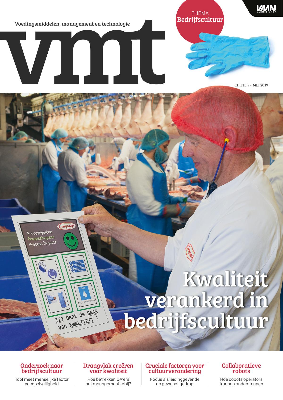 'Compaxo verankert voedselveiligheid in bedrijfscultuur'